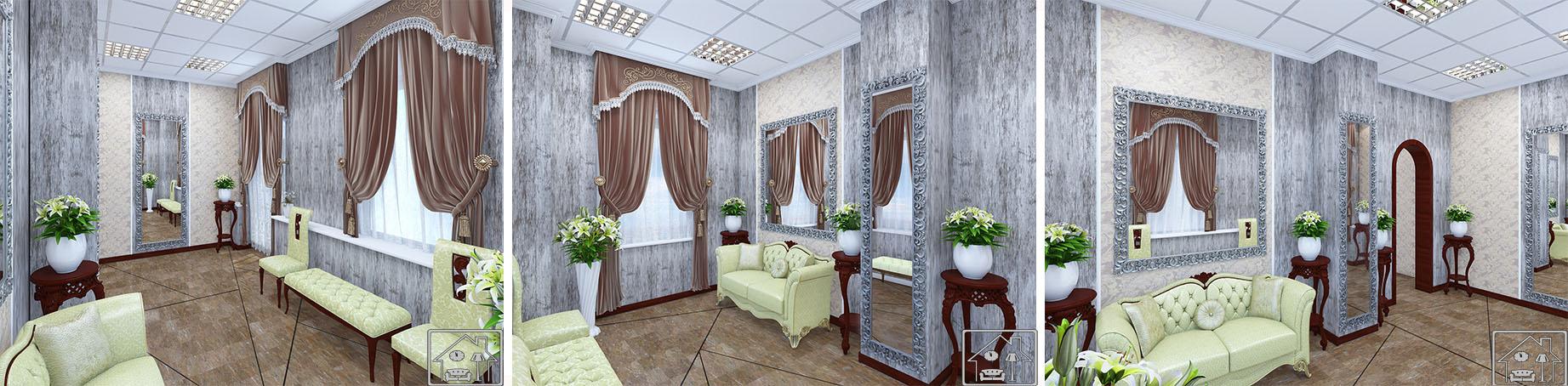 Дмитровский отдел ЗАГС комната невесты