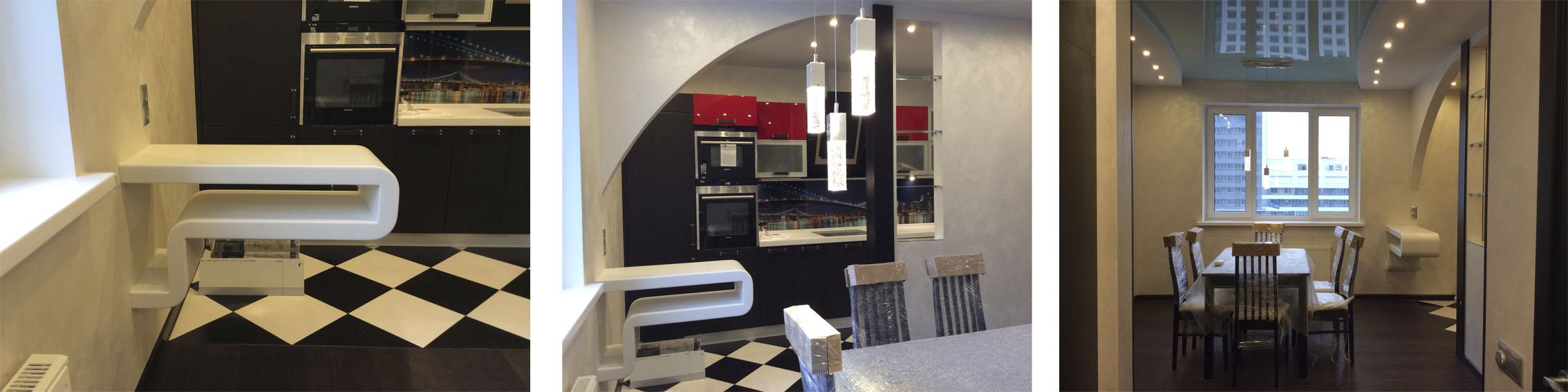 Кухня в современном стиле2