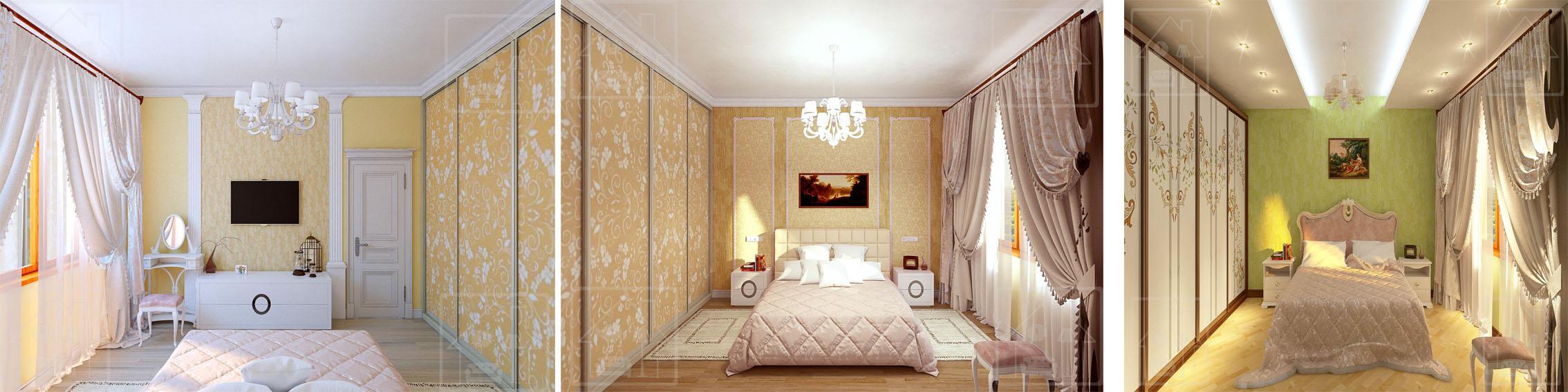 Спальня ЖК _Виноградный- 4