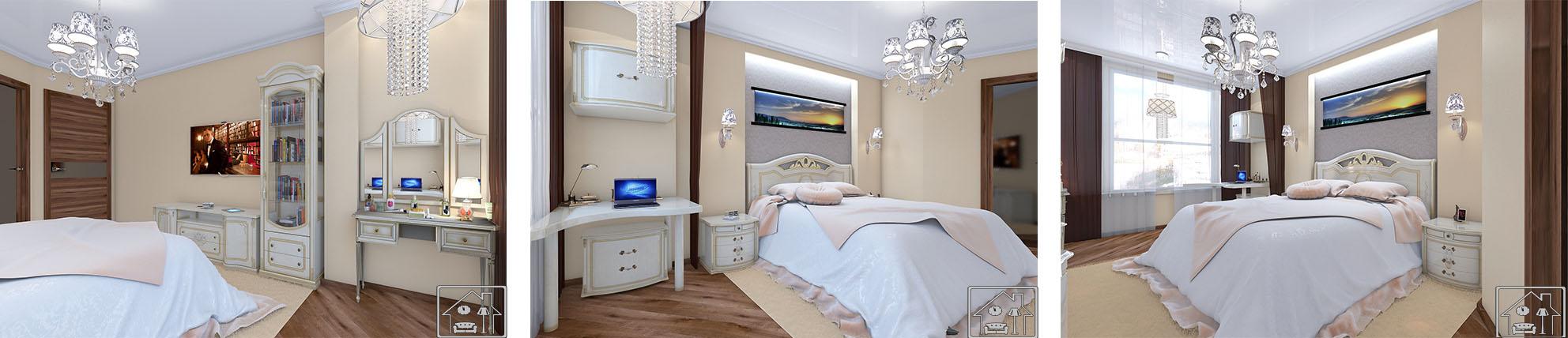 Спальня КЛАССИКА СВЕТЛАЯ МИАС