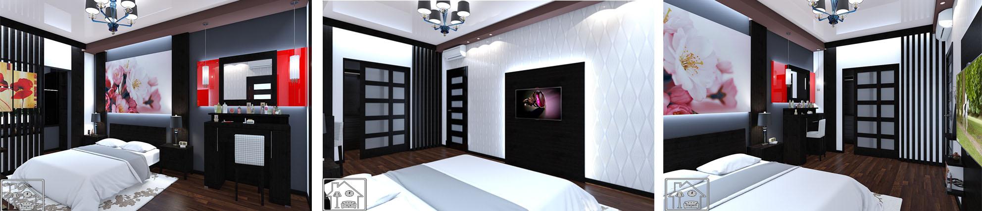 спальня 6 отраженная