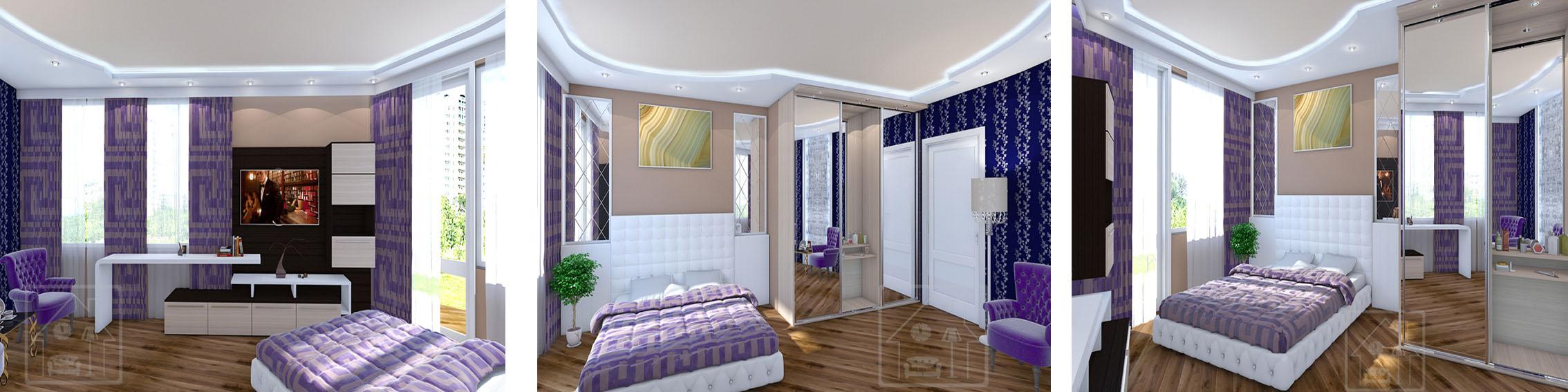 4-х комнатная квартира 150 м 2_Мичуринский проспект _Малая гостиная 4